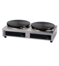 Double electrical Crepe Pan
