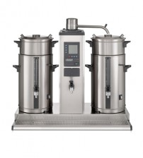 Coffee Brewer with hot water